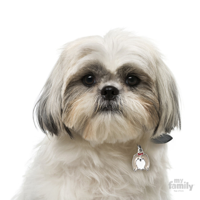 Shih Tzu Dog Name Tag