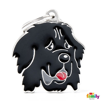 Newfoundland Dog Name Tag