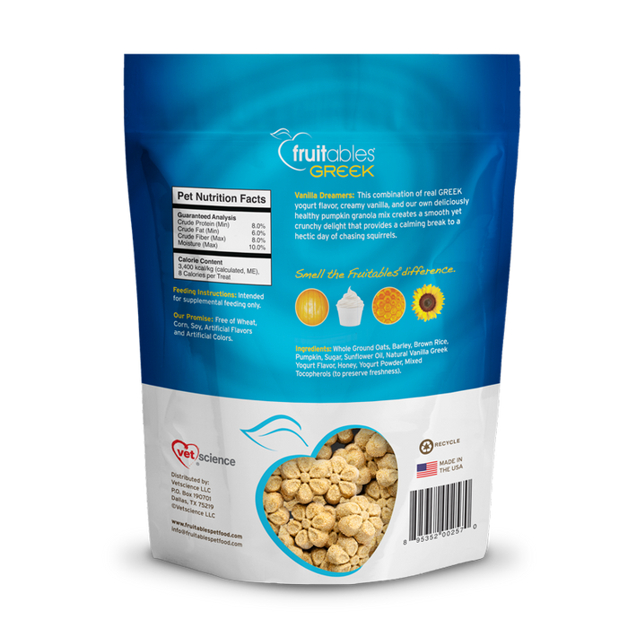 Fruitables Dog Treats are Healthy, Natural and Delicious