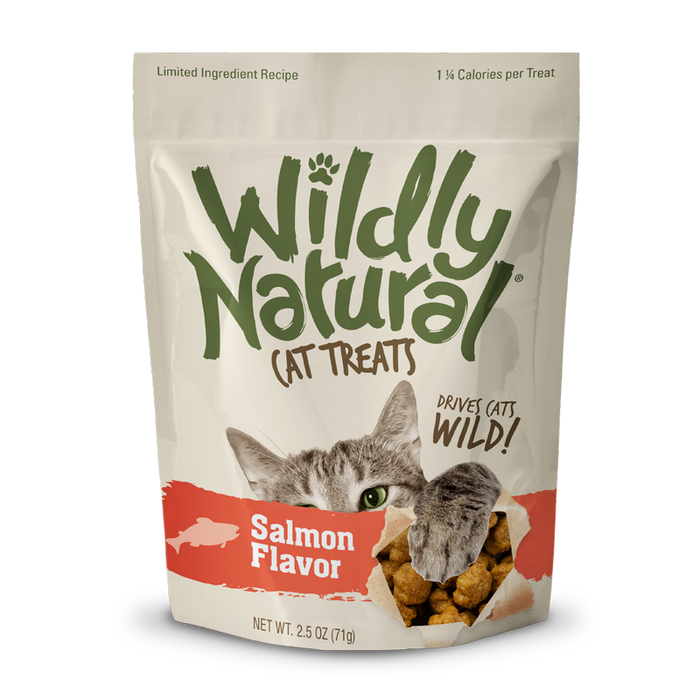 Wildly Natural® Salmon Cat Treat