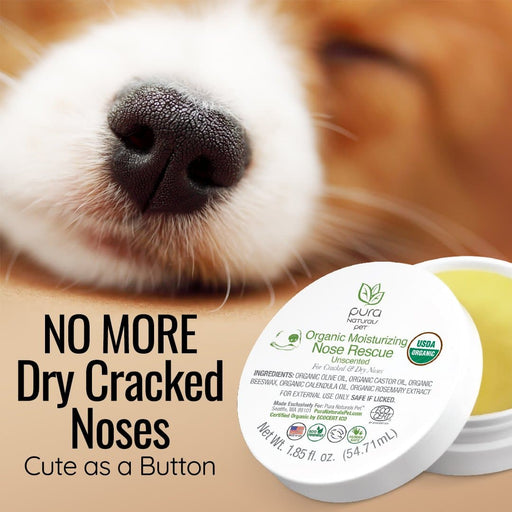 Pura Naturals Pet Organic Nose Rescue