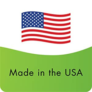 Produced in USA with high-quality globally sourced ingredients.