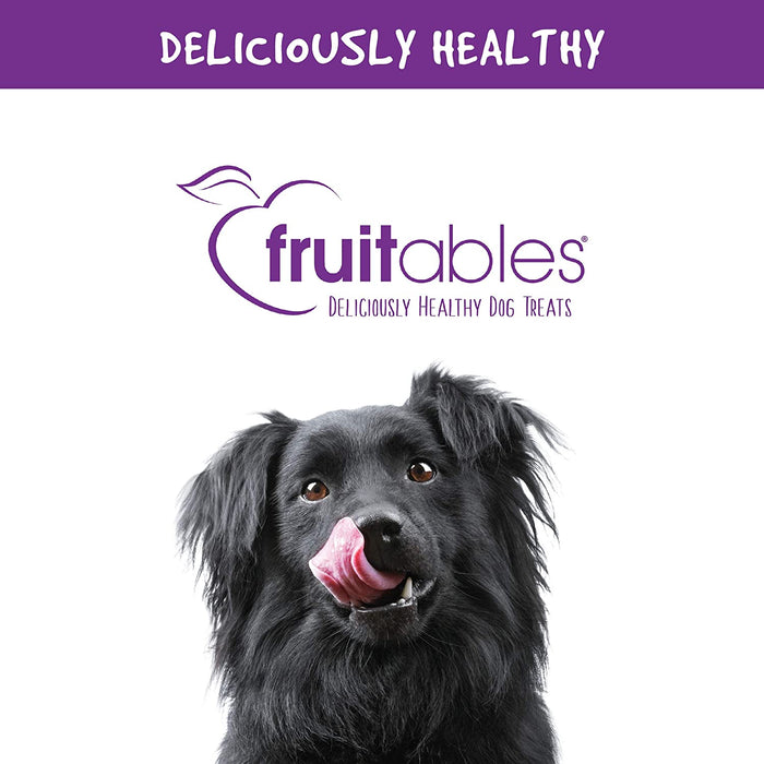 Fruitables Crunchy Dog Treats are Delicious, Natural and Healthy Pet Foods