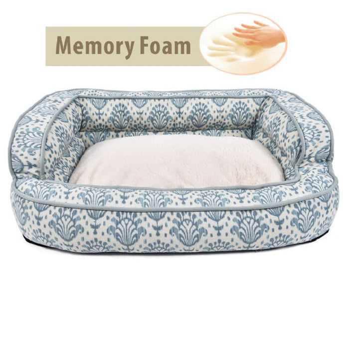 Signature Luxury Memory Foam Dog Bed is designed to give plush comfort for your pets & add a luxury accent to your décor.
