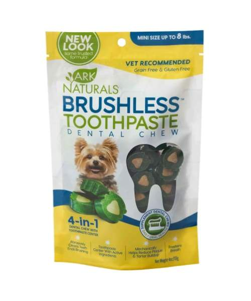 Ark Naturals - Brushless Toothpaste For Dogs - Mini 4oz/113g - Pet Suppliments