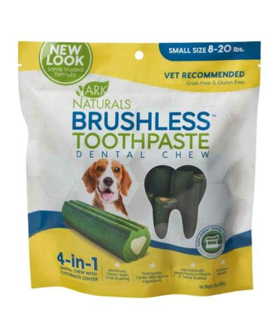 Ark Naturals - Brushless Toothpaste For Dogs - Small 12oz/340g 60 count - Pet Suppliments