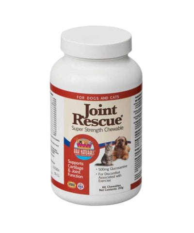 Ark Naturals Joint Rescue Advanced Super Strength Chewable For Cats & Dogs - 60 Count - Pet Suppliments