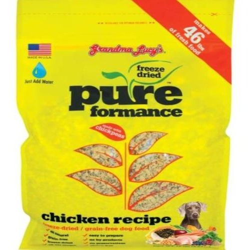 Grandma Lucys Pureformance Grain Free Chicken Recipe For Dogs - 3lb/1.4kg - Dog Food