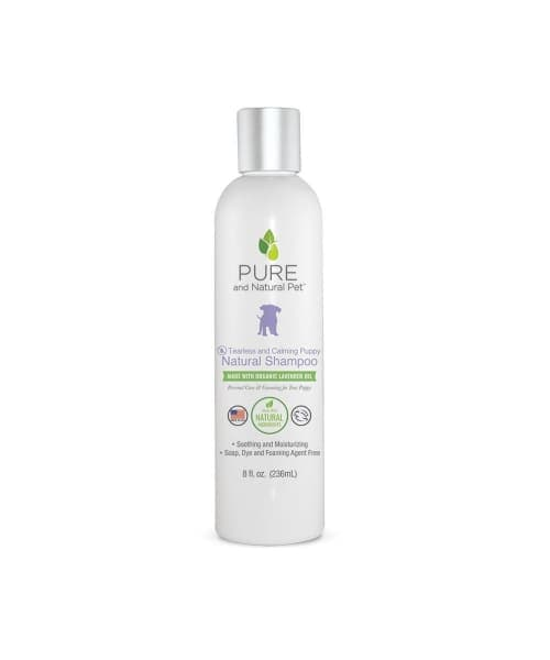 Organic Lavender Tearless and Calming Puppy Shampoo - Pet Supplies