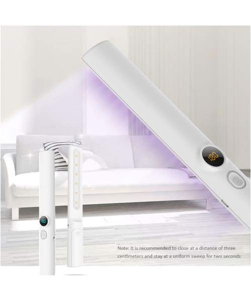 PawsnCollars Eliminator - Portable and Rechargeable UVC Sanitizer Wand for killing Bacteria and Viruses - Comfort Supplies