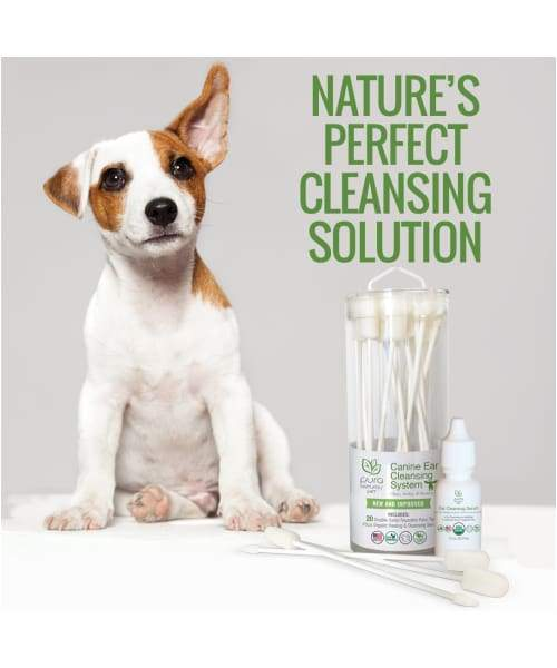 Pura Naturals Pet Ear Cleansing System - Pet Supplies