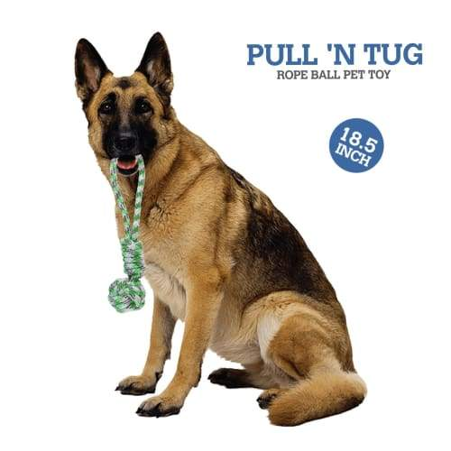 Volar Fashion Ball Pull N Tug Chew Pet Rope Toy - Toys