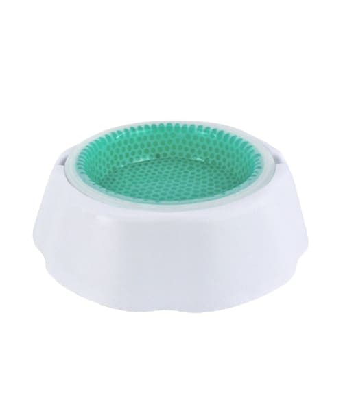 Volar Fashion Frosty Pet Bowl Set For Dog/Cat - White - Comfort Supplies