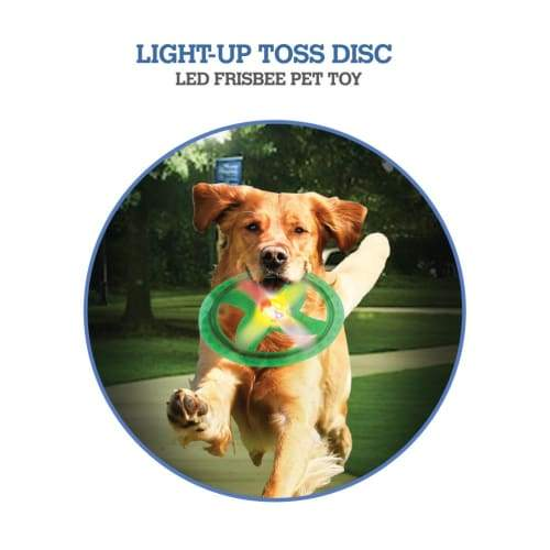 Volar Fashion LED Frisbee Pet Toy(Light-Up Toss Disc) - Toys