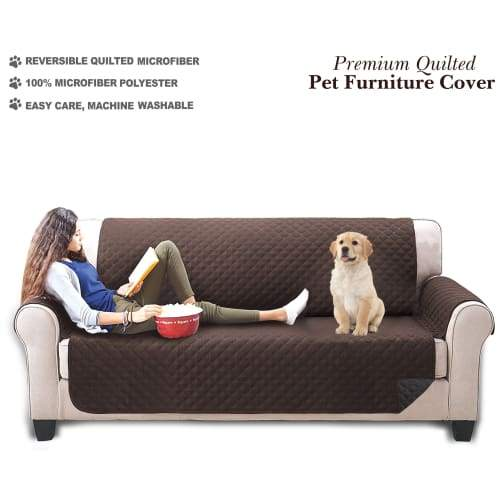 Volar Fashion Premium Quilted Pet Furniture Cover For Dog/Cat - L - Pet Supplies