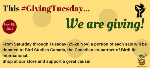 This #GivingTuesday, we are giving!