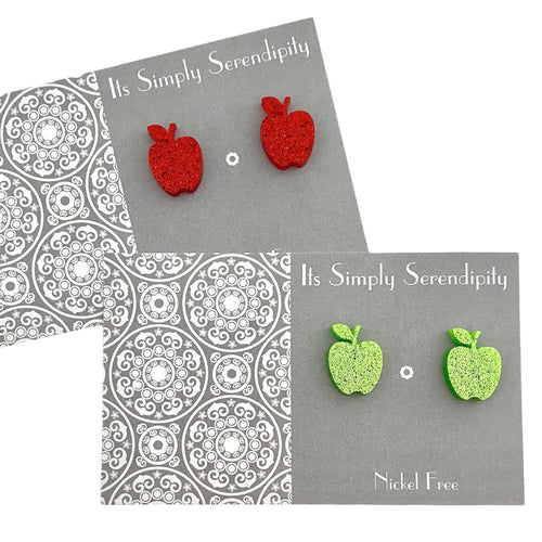 Cute & Quirky • Red Apples •