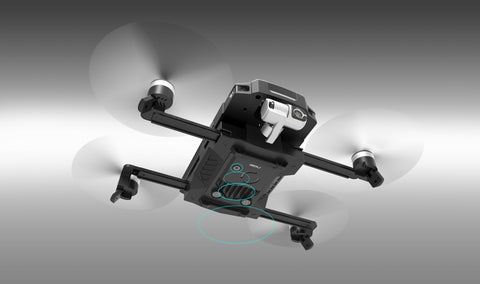 1KM HD VIDEO TRANSMISSION & 20-27 MINUTES FLIGHT TIME GDU O2 Quadcopter Drone with 4K HD Camera