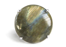 Large Labradorite Ring