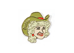 Dolly Parton Enamel Pin