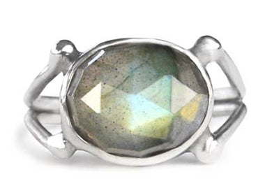 Faceted Radiance Ring