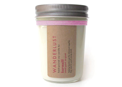 Wanderlust 8oz Soy Candle