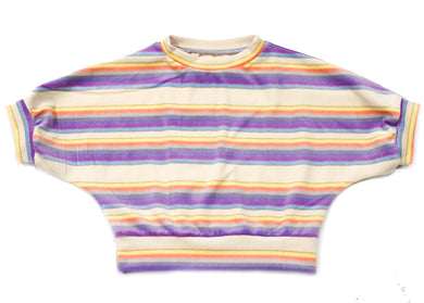 Praxis Top In Twilac Stripe