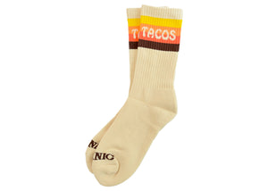Taco Van Striped Crew Socks