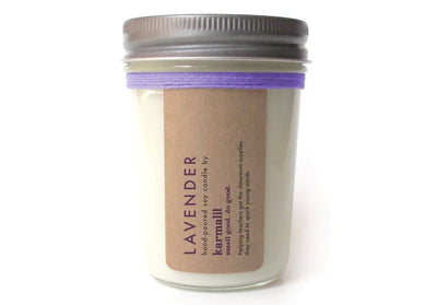Lavender 8oz Soy Candle