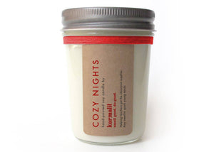 Cozy Nights 8oz Soy Candle