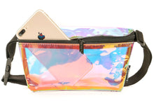 Ultra Slim Fanny Pack In Plasma Storm