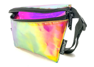 Ultra Slim Fanny Pack In Plasma Pink