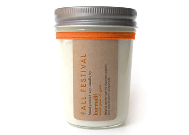 Fall Festival 8oz Soy Candle