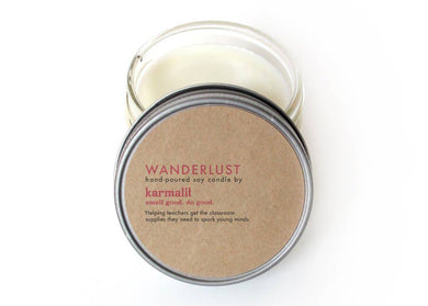 Wanderlust 4oz Soy Candle