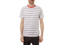Edgar Crew Neck Tee in Red Vine