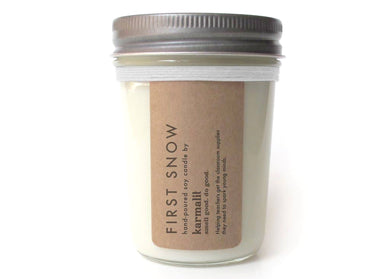 First Snow 8oz Soy Candle