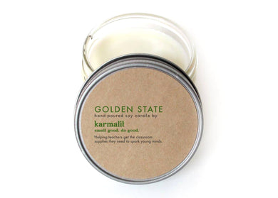 Golden State 4oz Soy Candle