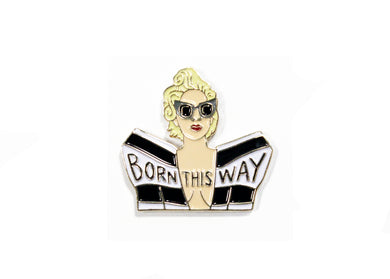 Gaga Born This Way Enamel Pin