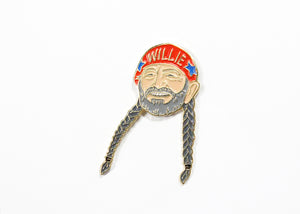 Willie Nelson Enamel Pin