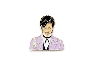 Prince Jacket Enamel Pin