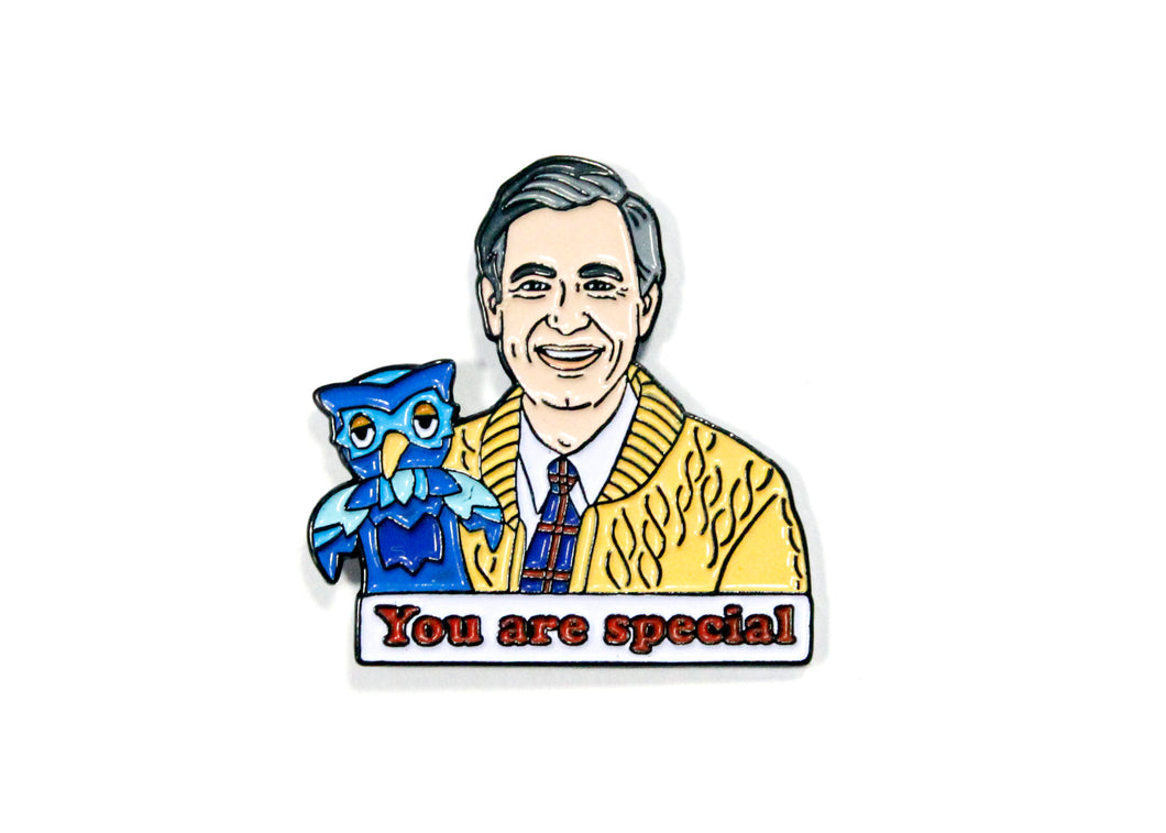 Mr. Rogers You Are Special Enamel Pin