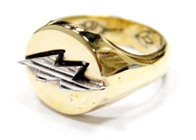 Lightning Ring in Gold