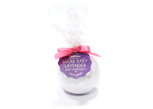 Relax Baby Lavender Bath Bomb