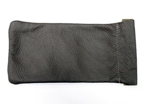 Snap Glasses Pouch in Brown