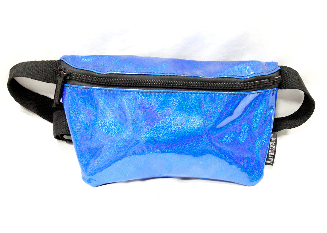 Ultra Slim Fanny Pack In Laser Blue