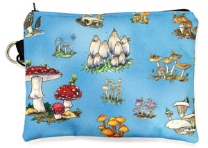 Mushrooms Zip Pouch
