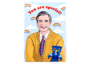 Mister Rogers You Are Special Magnet