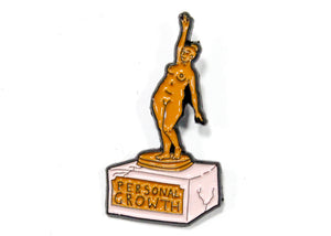 Personal Growth Enamel Pin