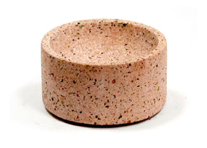 Round Incense Holder in Lilac Terrazzo