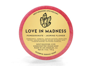 Love In Madness - Scorpio Zodiac Soap